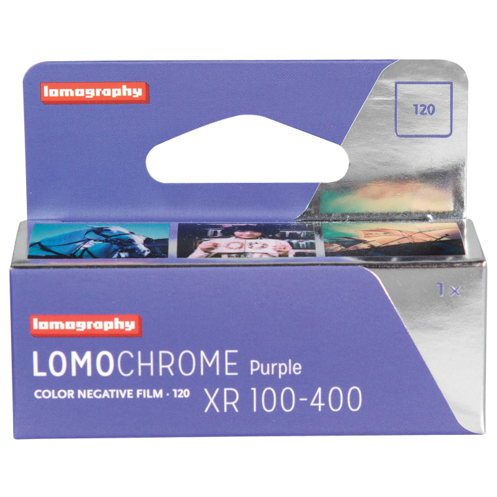 Lomography LomoChrome Purple XR 100-400 Film (120 Roll) new