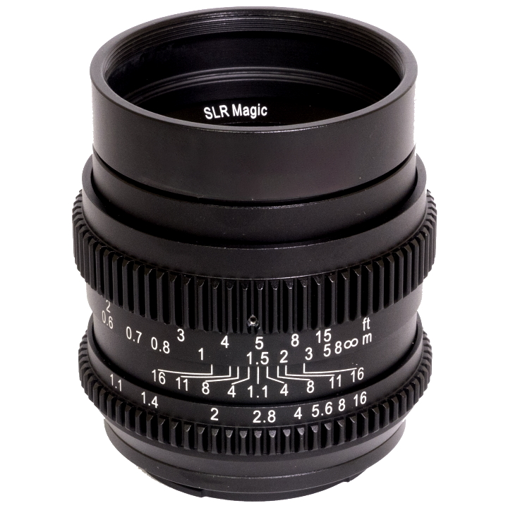 SLR Magic CINE 50mm F1.1 lens E Mount