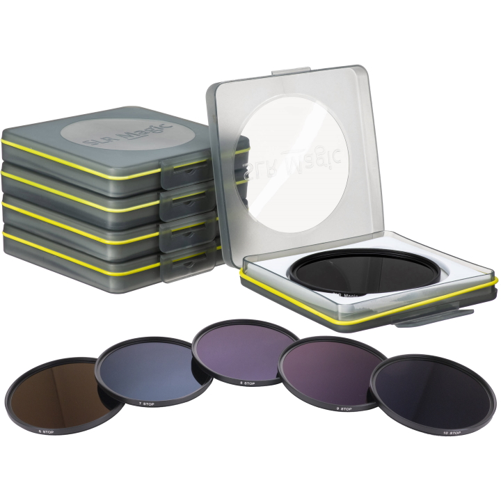 SLR Magic Set of 5 ND Filters (6-10 stops) 82mm