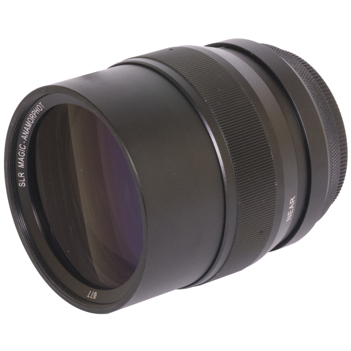 SLR Magic Anamorphot-50 2x Anamorphic Adaptor lens 62mm Mount