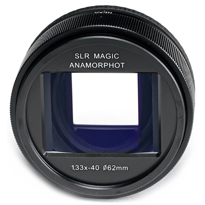 SLR Magic Anamorphot-40 1.33x Anamorphic Adaptor lens (Compact) 52mm Mount