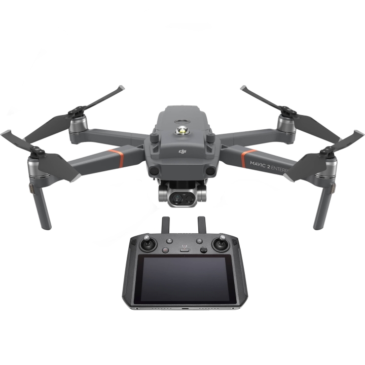 DJI Mavic 2 Enterprise Dual (RGB + Thermal Cameras) with Smart Controller
