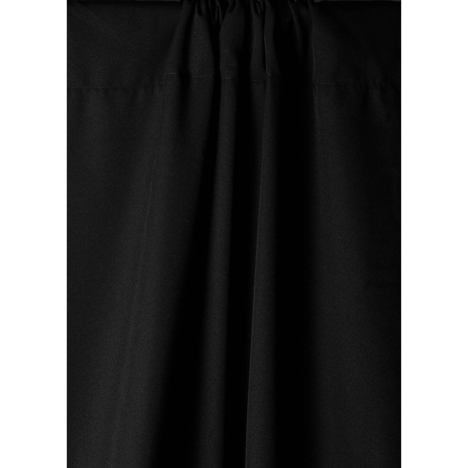 Savage Solid Eco Black 1.52m x 2.74m Wrinkle Resistant Polyester Background