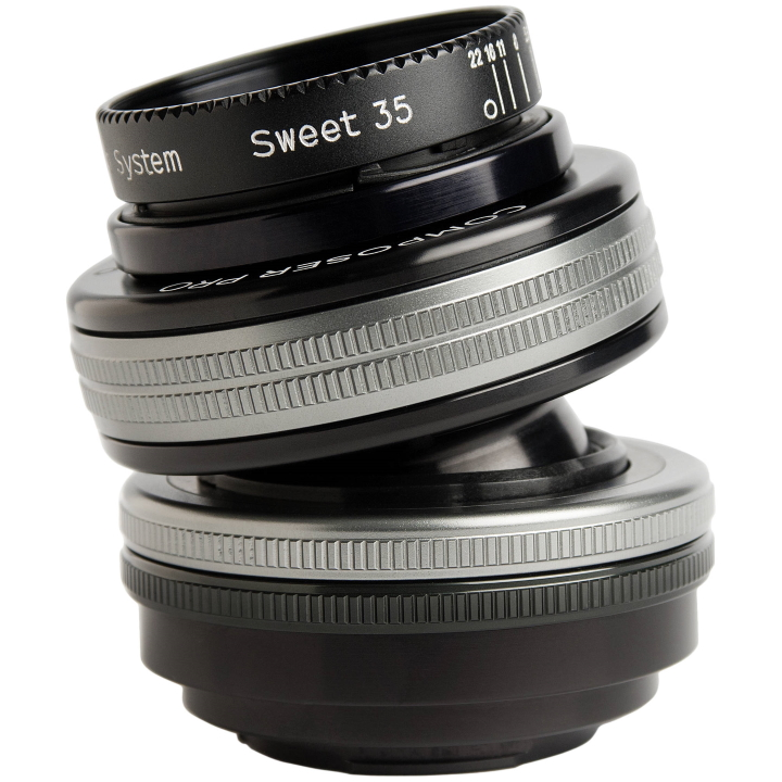 Lensbaby Composer Pro II with Sweet 35 Optic Lens For Canon RF