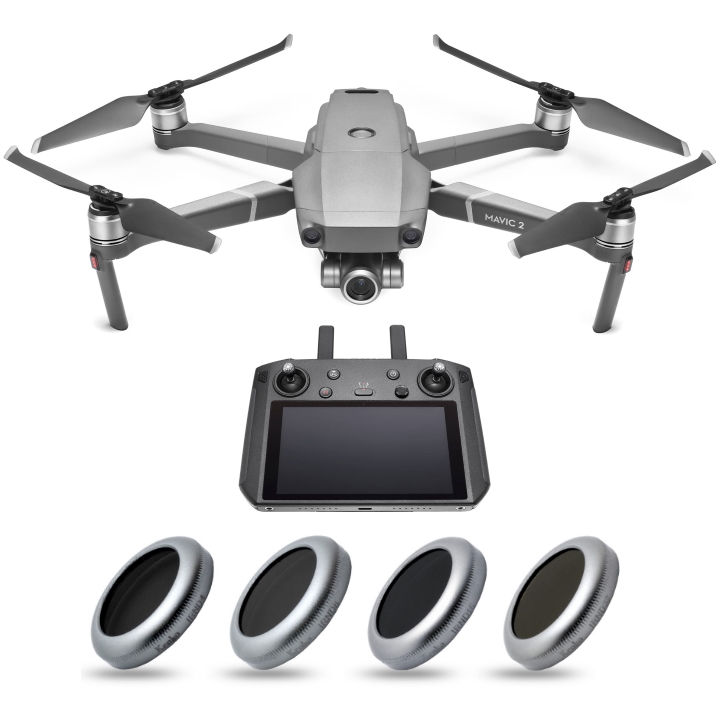 DJI Mavic 2 Zoom with Smart Controller & Kenko Drone Filter Kit