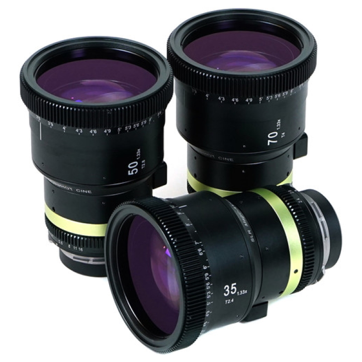 SLR Magic Anamorphot-CINE 1.33x, 3-lens set - 35mm, 50mm 70mm PL MT in one 3-lens case