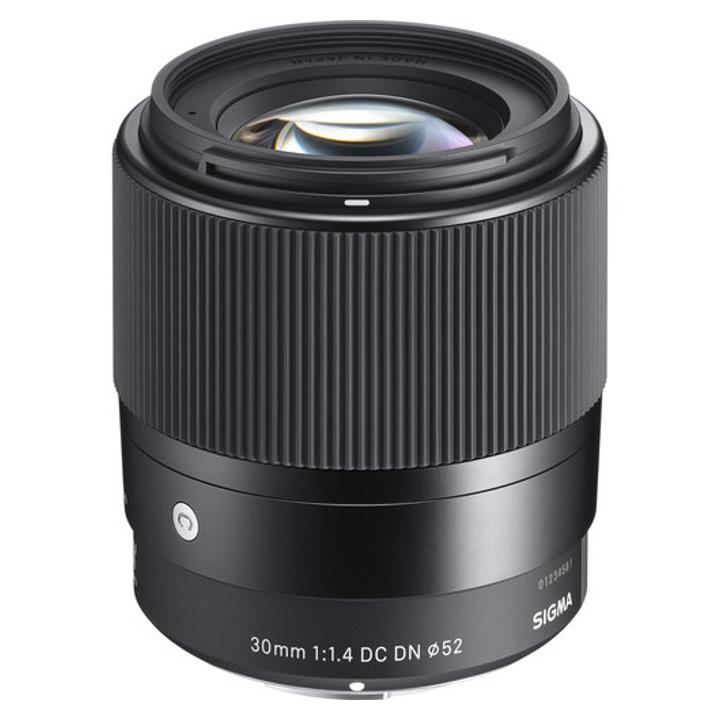 Sigma 30mm f/1.4 DC DN Contemporary Lens for Canon M-Mount