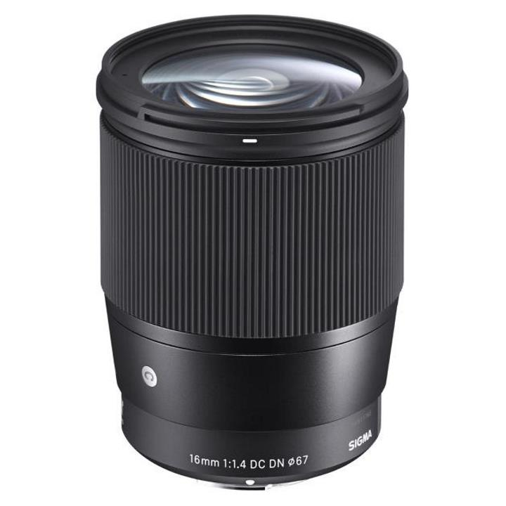 Sigma 16mm f/1.4 DC DN Contemporary Lens for Canon M-Mount