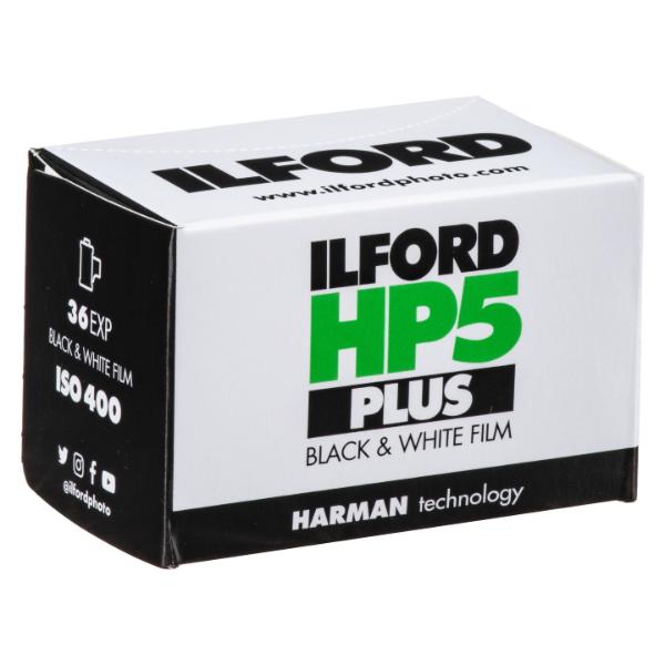 Ilford HP5 Plus ISO 400 35mm 36 Exposure Black & White Film