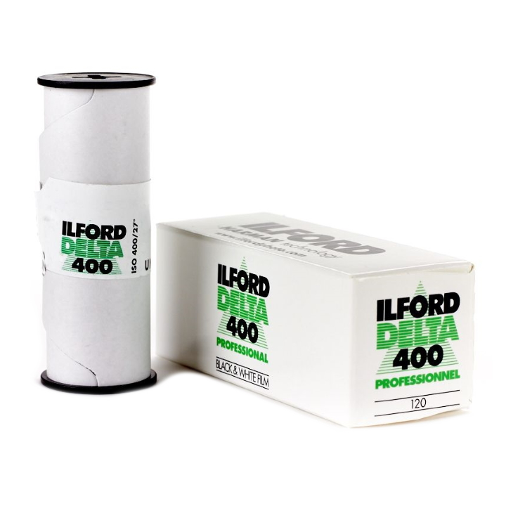 Ilford Delta 400 ISO PROFESSIONAL 120 Roll Black & White Film