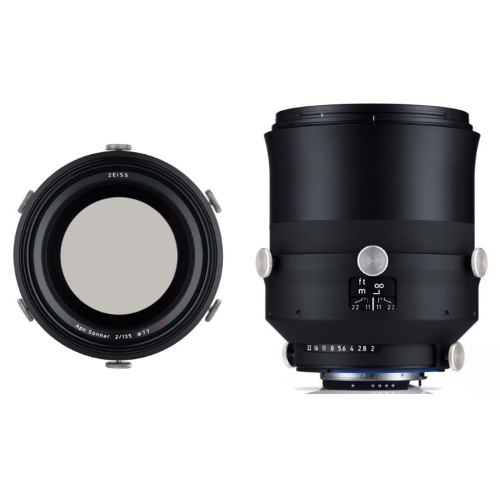 Zeiss Interlock 135mm f2 ZF.2 F-mount Industrial lens