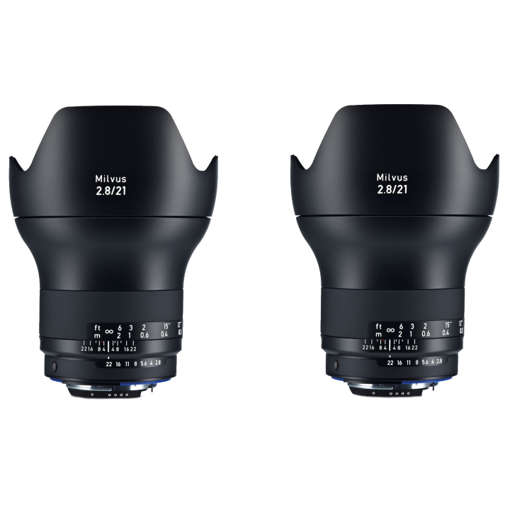 Zeiss Milvus 21mm f/2.8 Lens