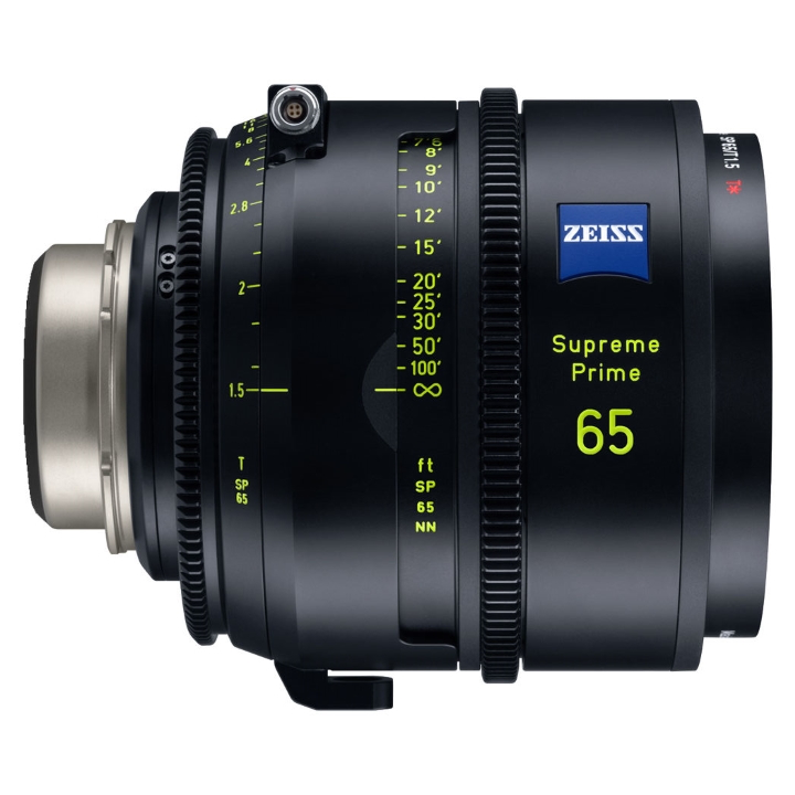 Zeiss Supreme Prime 65mm/T1.5 Feet Cine Lens for PL Mount