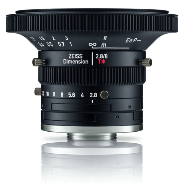 Zeiss Dimension 8mm f2.8 C-Mount Industrial lens