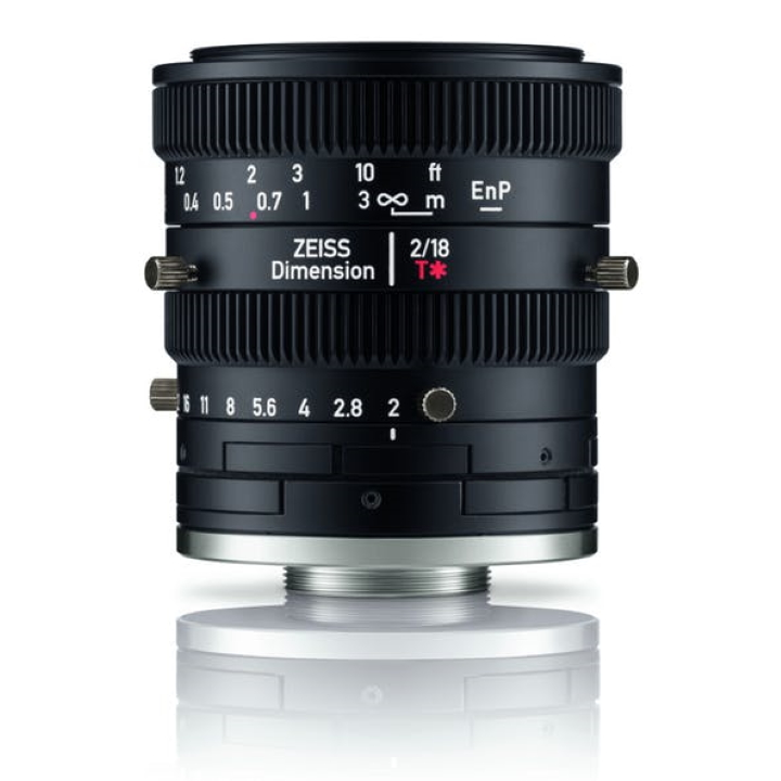 Zeiss Dimension 18mm f2 C-Mount Industrial lens