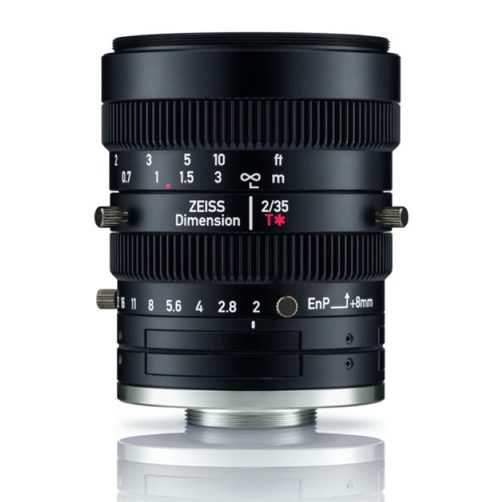Zeiss Dimension 35mm f2 C-Mount Industrial lens