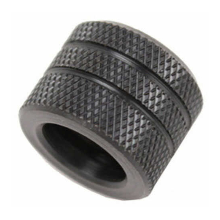 Grovtec Muzzle Thread Protector for Glock 17 & 19 most 9mm's 1/2-28 .641