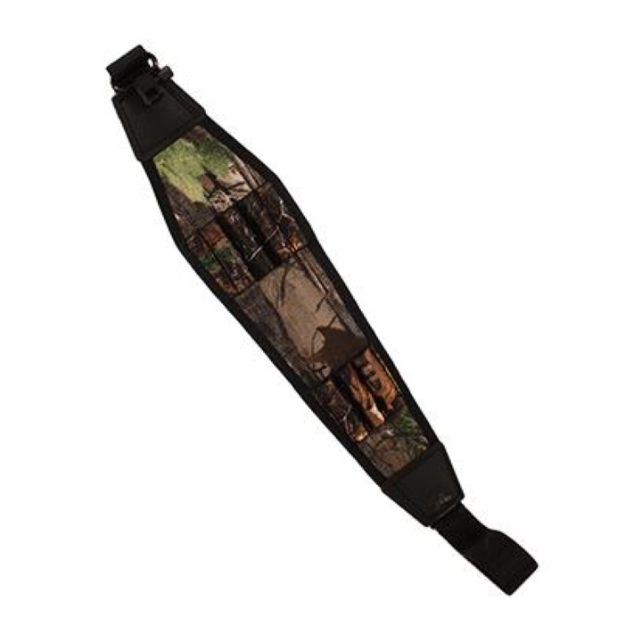Grovtec Rifle Cartridge Sling with Swivels - Camo