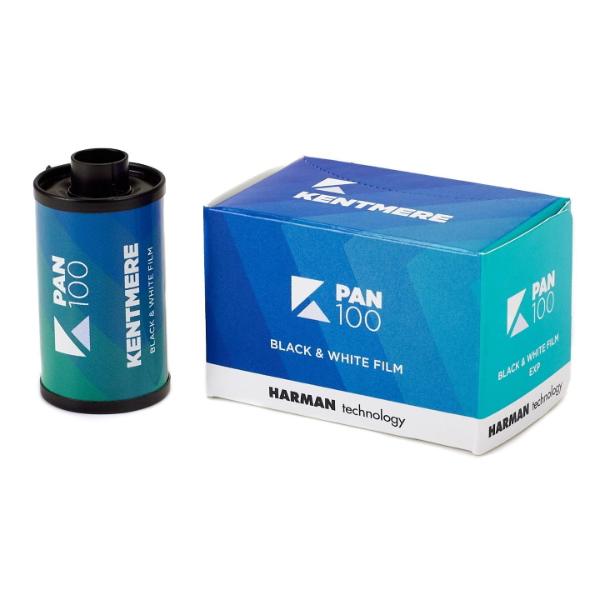 Kentmere 100 ISO 35mm 24 Exposure Black & White Film