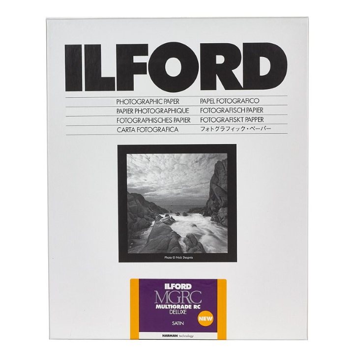 Ilford Multigrade Deluxe Satin 20.3x25.4cm 250 Sheets MGRCDL25M