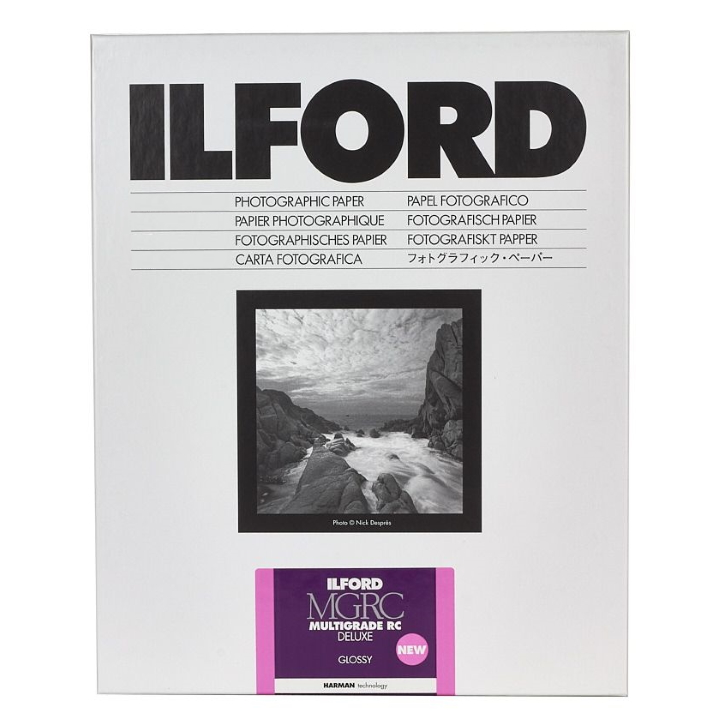 Ilford Multigrade Deluxe Gloss 20.3cm x 25.4cm 50 Sheets MGRCDL1M