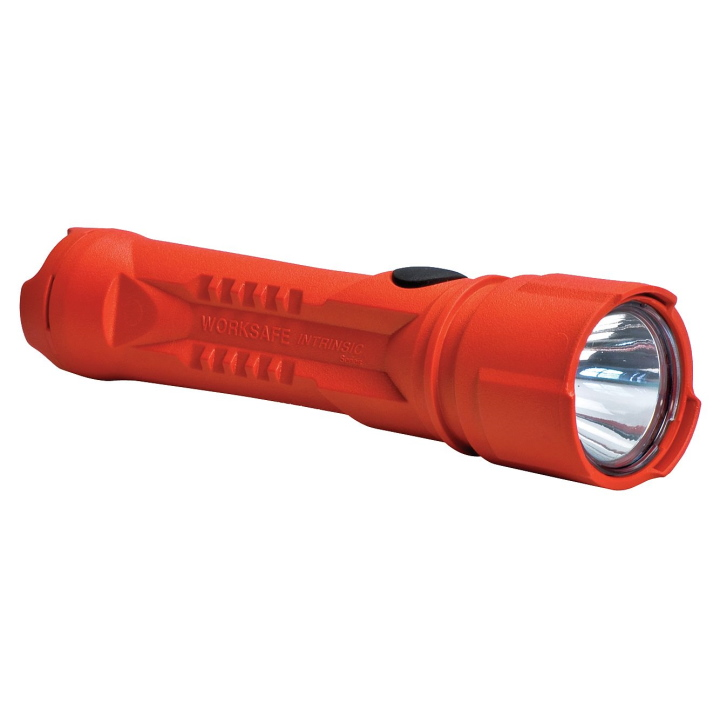 Koehler Brightstar Flashlight 3AA LED Orange HW IECEx Approved