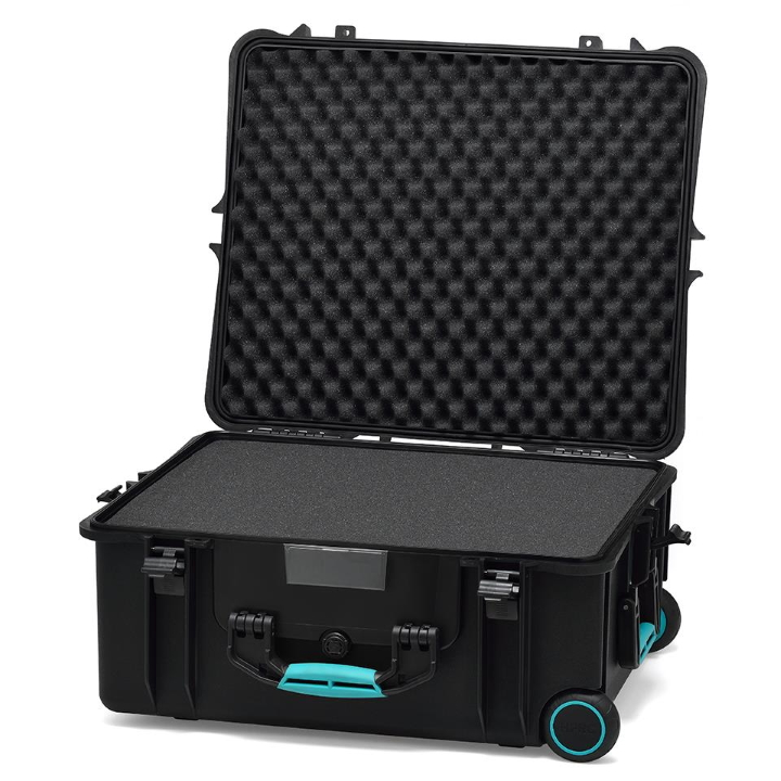 HPRC 2700W - Wheeled Hard Case with Cubed Foam (Black) - NEW