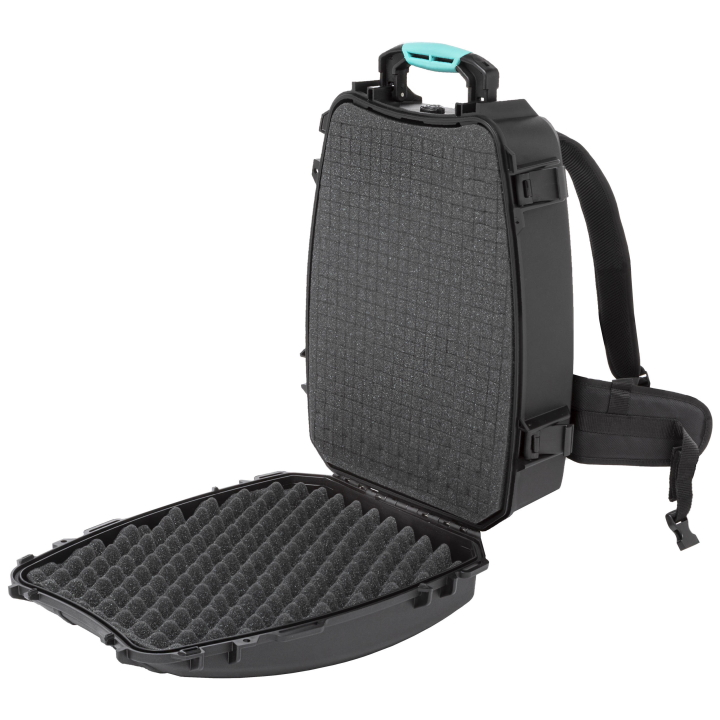 HPRC 3600 - Hard Case Backpack with Cubed Foam - Blue / Black