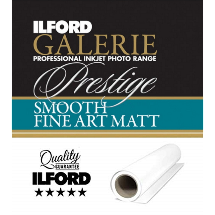 Ilford Galerie Smooth Fine Art Matt Paper (190 GSM)