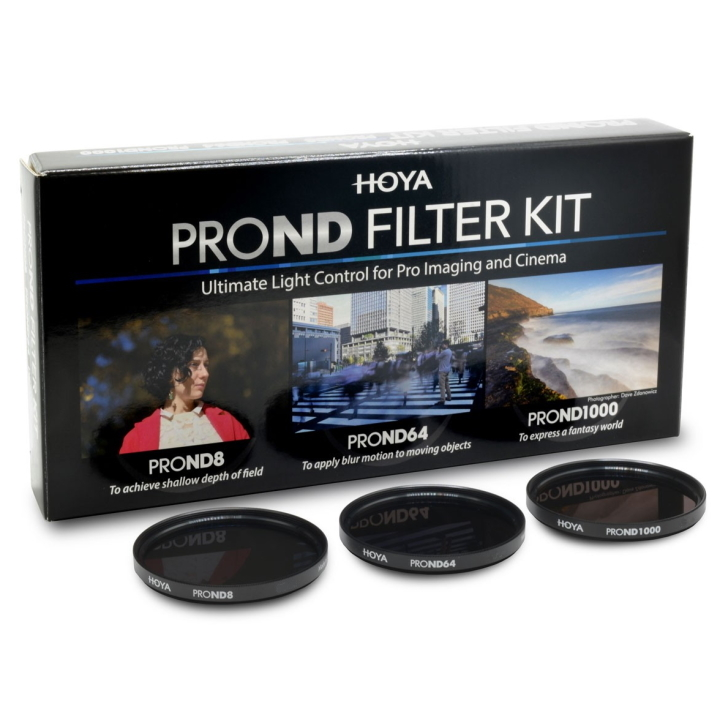 HOYA 49mm ND KIT 8/64/1000