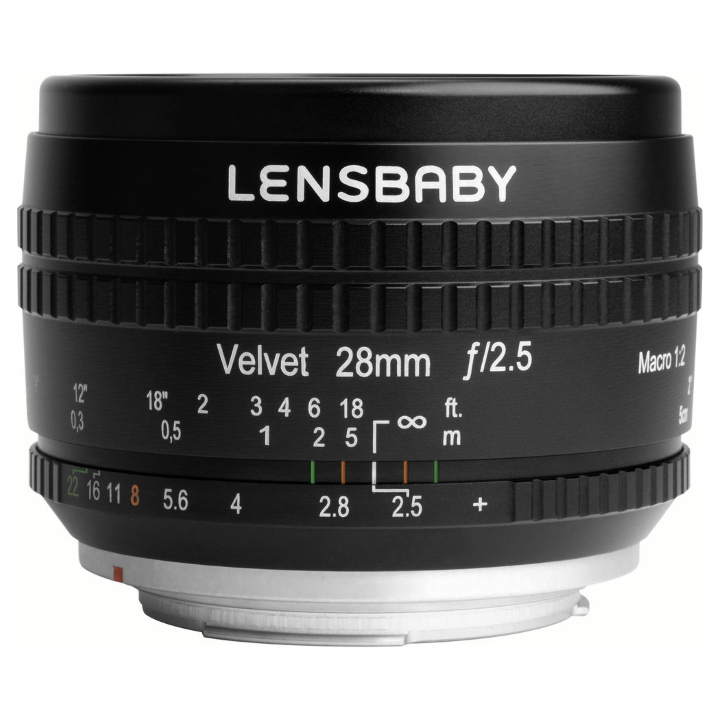 Lensbaby Velvet 28mm f/2.5 Lens for Nikon F