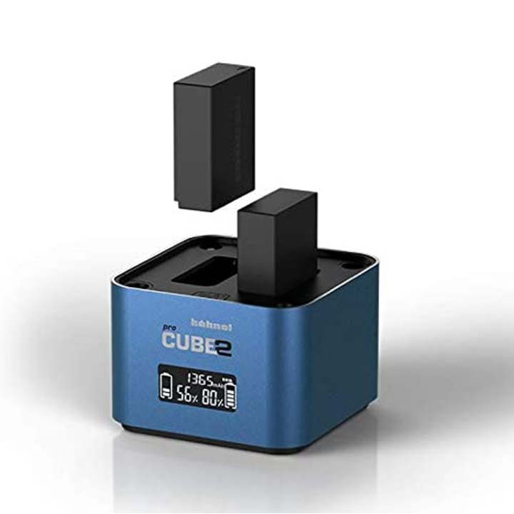 Hahnel Pro Cube 2 charger for Pana/Fuji