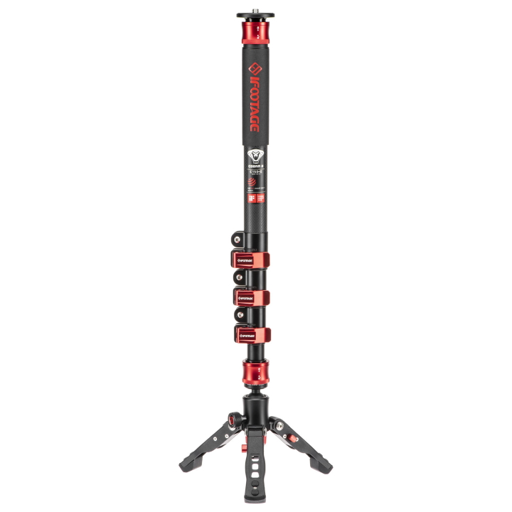 iFootage Cobra 2 C150-II Carbon Fibre Monopod with Low-Level Tripod