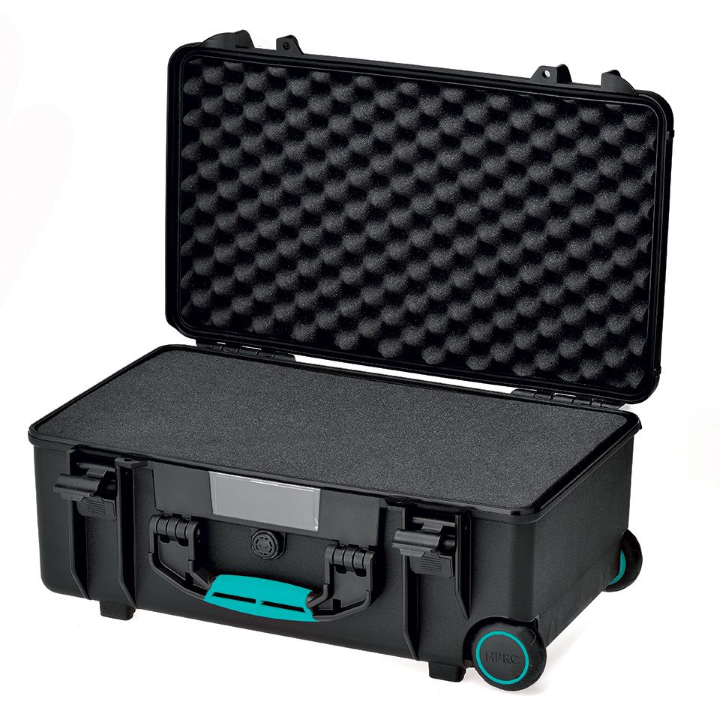 HPRC 2550W - Wheeled Hard Case with Cubed Foam (Black)