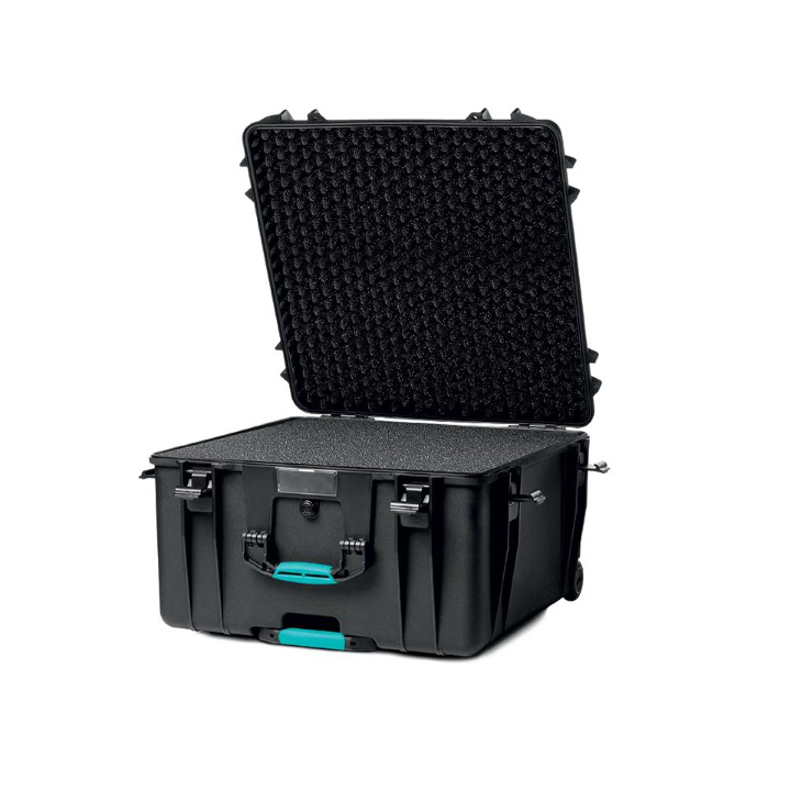 HPRC 4600W - Wheeled Hard Case with Cubed Foam (Black)