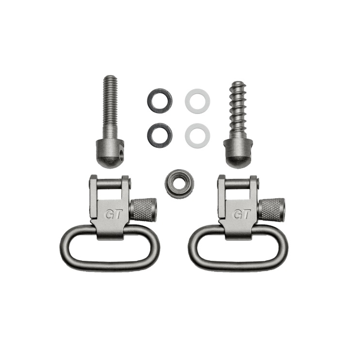 Grovtec Machine & Wood Screws Set Satin Nickel Plated - 1