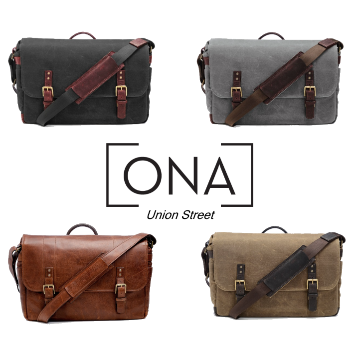 ONA Union Street Messenger Bag