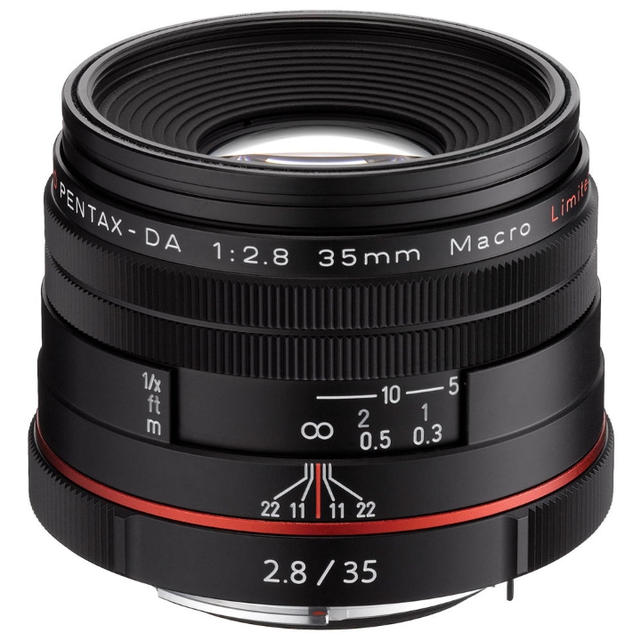 Pentax-DA 35mm F2.8 LTD HD Macro Lens (Black)