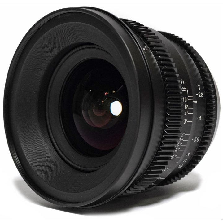 SLR Magic MicroPrime Cine 18mm T2.8 Lens for Micro Four Thirds Mount