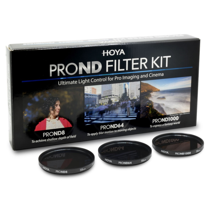 Hoya PROND Filter Kit 8/64/1000