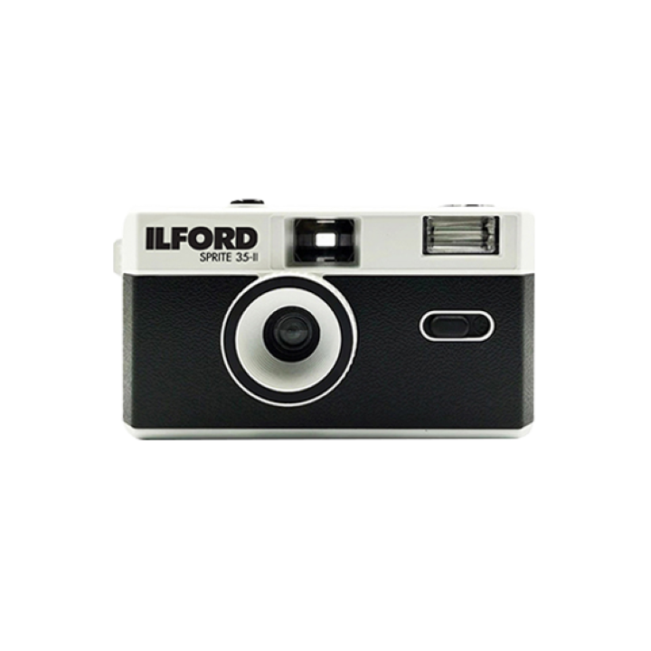 Ilford Sprite 35-II Reusable Camera - Classic Black & Silver