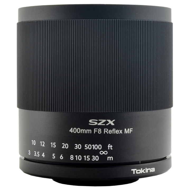Tokina Super Tele 400mm f/8 Reflex MF for Nikon-F Mount