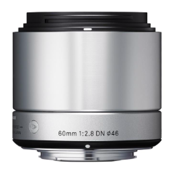 Sigma 60mm f/2.8 Ex DN Silver for Micro Four Thirds
