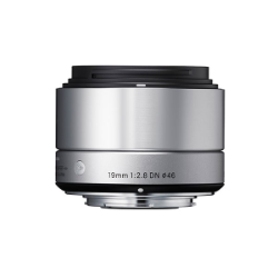 Sigma 19mm f/2.8 DN Silver for Micro Four Thirds