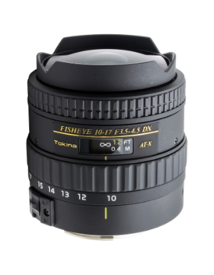 Tokina 10-17mm f/3.5-4.5 DX for Canon