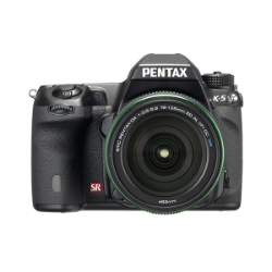 Pentax K-5 DSLR (Black) + Pentax DA 18-135mm Lens