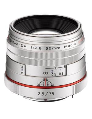 Pentax DA 35mm f/2.8 LTD HD Macro Lens (Silver)