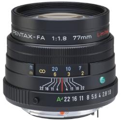 Pentax FA 77mm f/1.8 Limited Lens (Black)