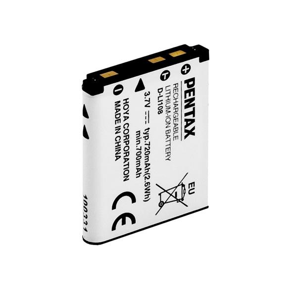 Pentax D-LI108 Li-Ion Battery for LS/RS1000