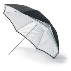 Bowens Umbrella 90cm Silver / White